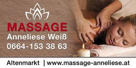 bandenwerbung-Massagen-Anneliese-Weiß